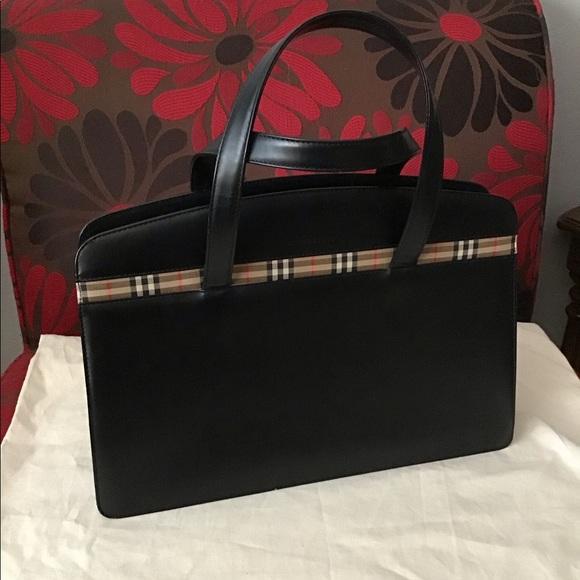 Burberry Handbags - Burberry Leather Handbag